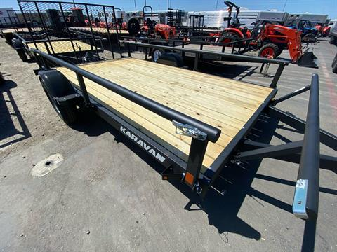 "2020 Karavan Trailers 13' X 82"" UTILITY TRAILER in Elk Grove, California - Photo 7"