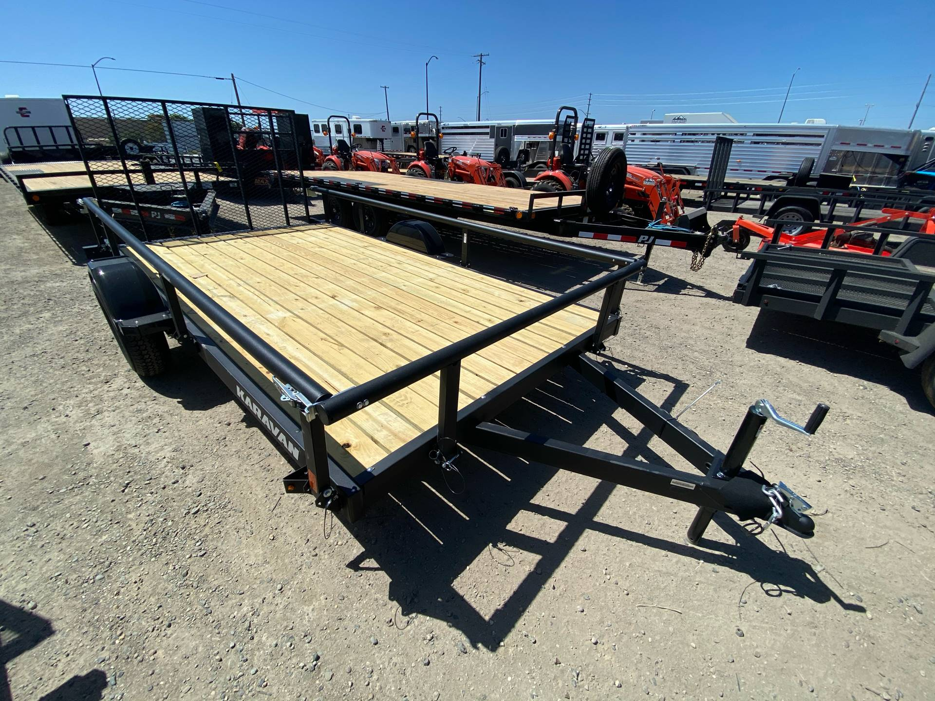 "2020 Karavan Trailers 13' X 82"" UTILITY TRAILER in Elk Grove, California - Photo 16"