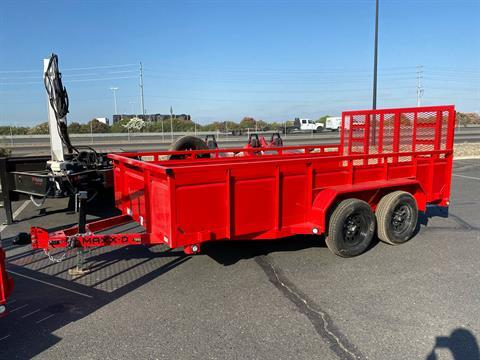 "2021 MAXXD TRAILERS 14' X 83"" TA UTILITY TRAILER in Elk Grove, California - Photo 1"