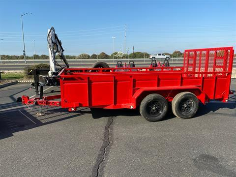 "2021 MAXXD TRAILERS 14' X 83"" TA UTILITY TRAILER in Elk Grove, California - Photo 2"