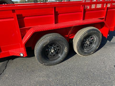 "2021 MAXXD TRAILERS 14' X 83"" TA UTILITY TRAILER in Elk Grove, California - Photo 3"