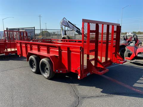 "2021 MAXXD TRAILERS 14' X 83"" TA UTILITY TRAILER in Elk Grove, California - Photo 5"