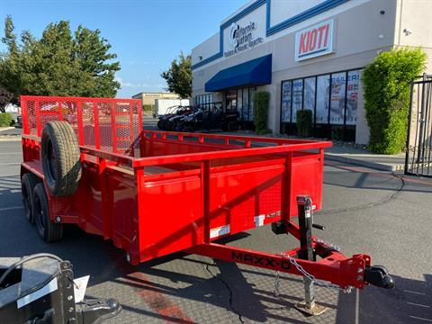 "2021 MAXXD TRAILERS 14' X 83"" TA UTILITY TRAILER in Elk Grove, California - Photo 9"