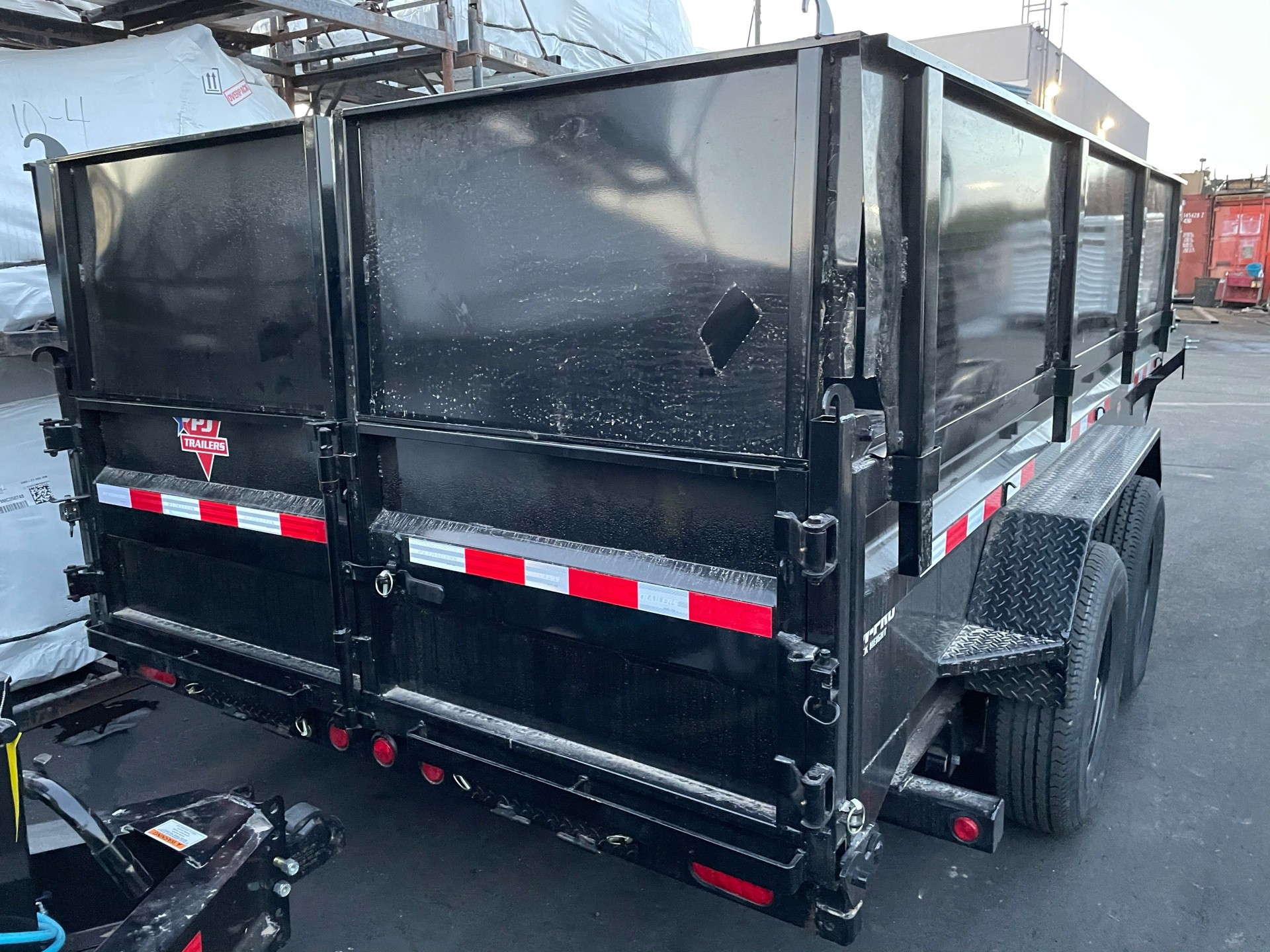 "2021 PJ Trailers 14' x 83"" LOW PRO DUMP TRAILER in Elk Grove, California - Photo 3"