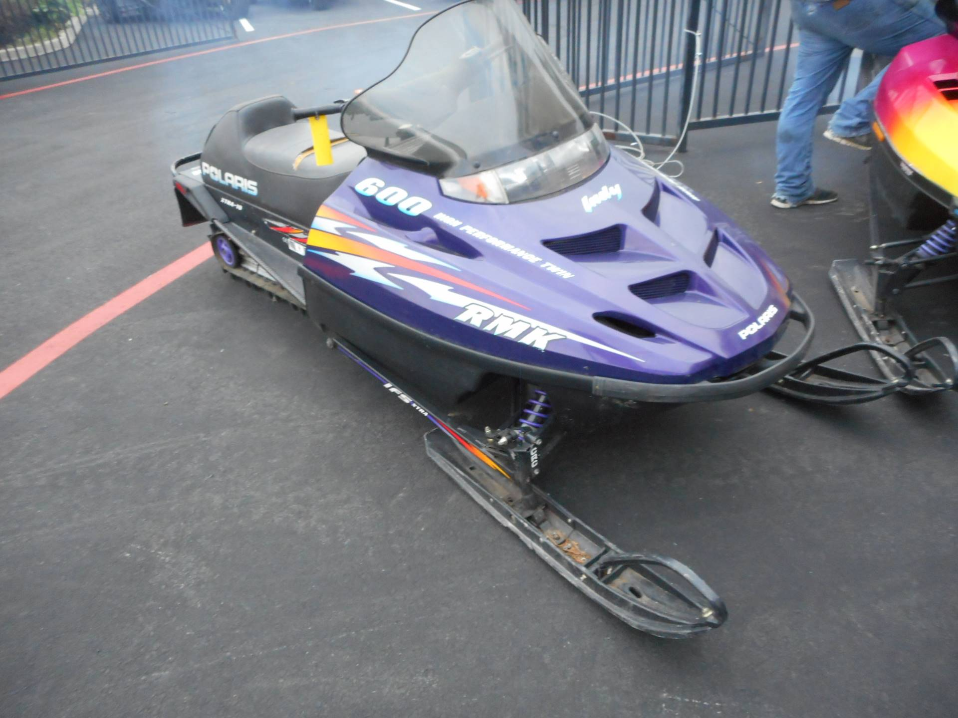 1999 Polaris Indy 600 RMK in Elk Grove, California