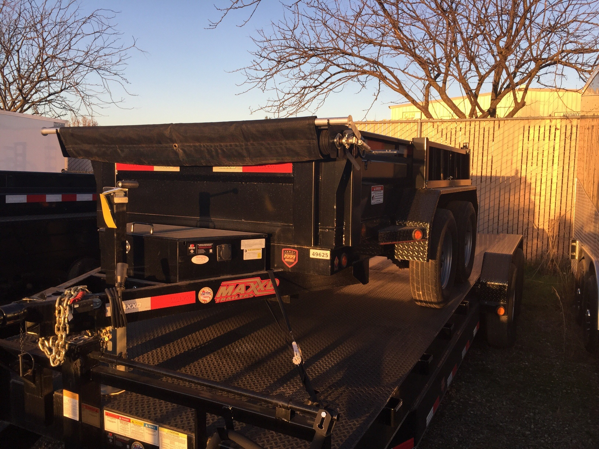2017 MAXXD TRAILERS 5x10 HD DUMP in Elk Grove, California