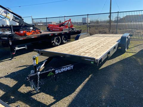 2021 SUMMIT TRAILER MFG 7X20 CASCADE CAR HAULER in Elk Grove, California - Photo 1