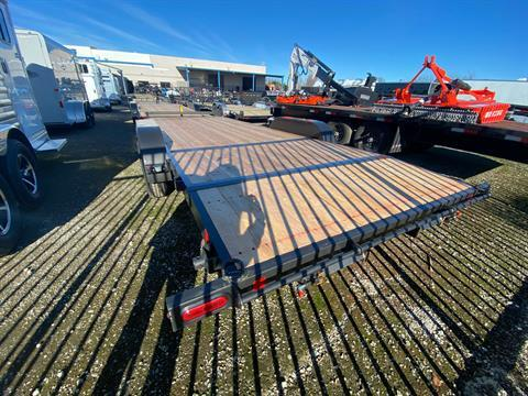 2021 SUMMIT TRAILER MFG 7X20 CASCADE CAR HAULER in Elk Grove, California - Photo 9