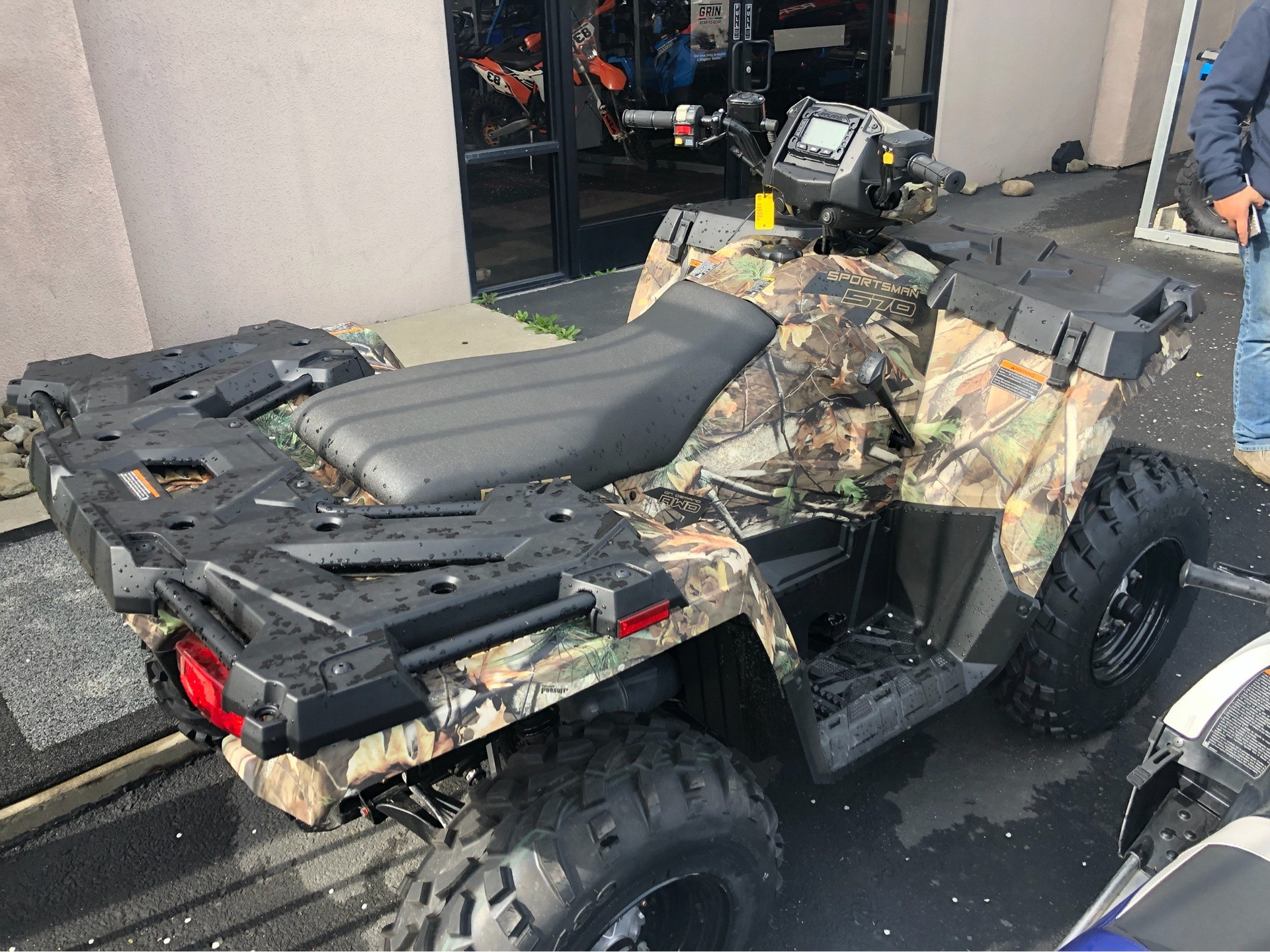 2019 Polaris Sportsman 570 SP Hunter Edition in Elk Grove, California
