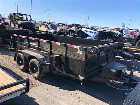 "2020 PLAYCRAFT TRAILERS 12' X 83"" DUMP TRAILER in Elk Grove, California - Photo 1"