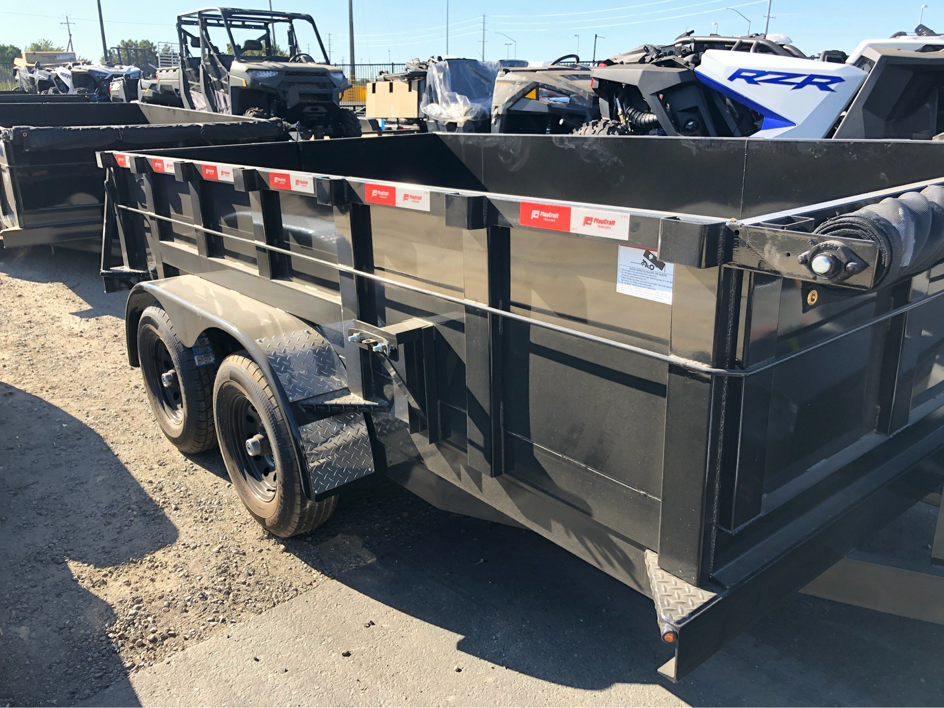 "2020 PLAYCRAFT TRAILERS 12' X 83"" DUMP TRAILER in Elk Grove, California - Photo 4"