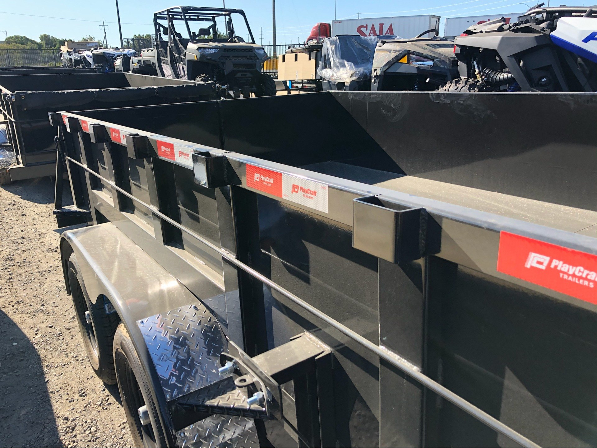"2020 PLAYCRAFT TRAILERS 12' X 83"" DUMP TRAILER in Elk Grove, California - Photo 6"
