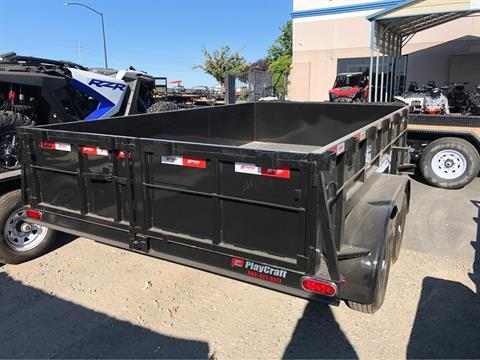 "2020 PLAYCRAFT TRAILERS 12' X 83"" DUMP TRAILER in Elk Grove, California - Photo 7"