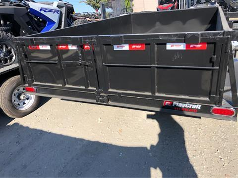 "2020 PLAYCRAFT TRAILERS 12' X 83"" DUMP TRAILER in Elk Grove, California - Photo 8"