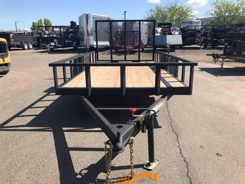 2020 Charmac Trailers 14' X 7' STEEL UTILITY in Elk Grove, California