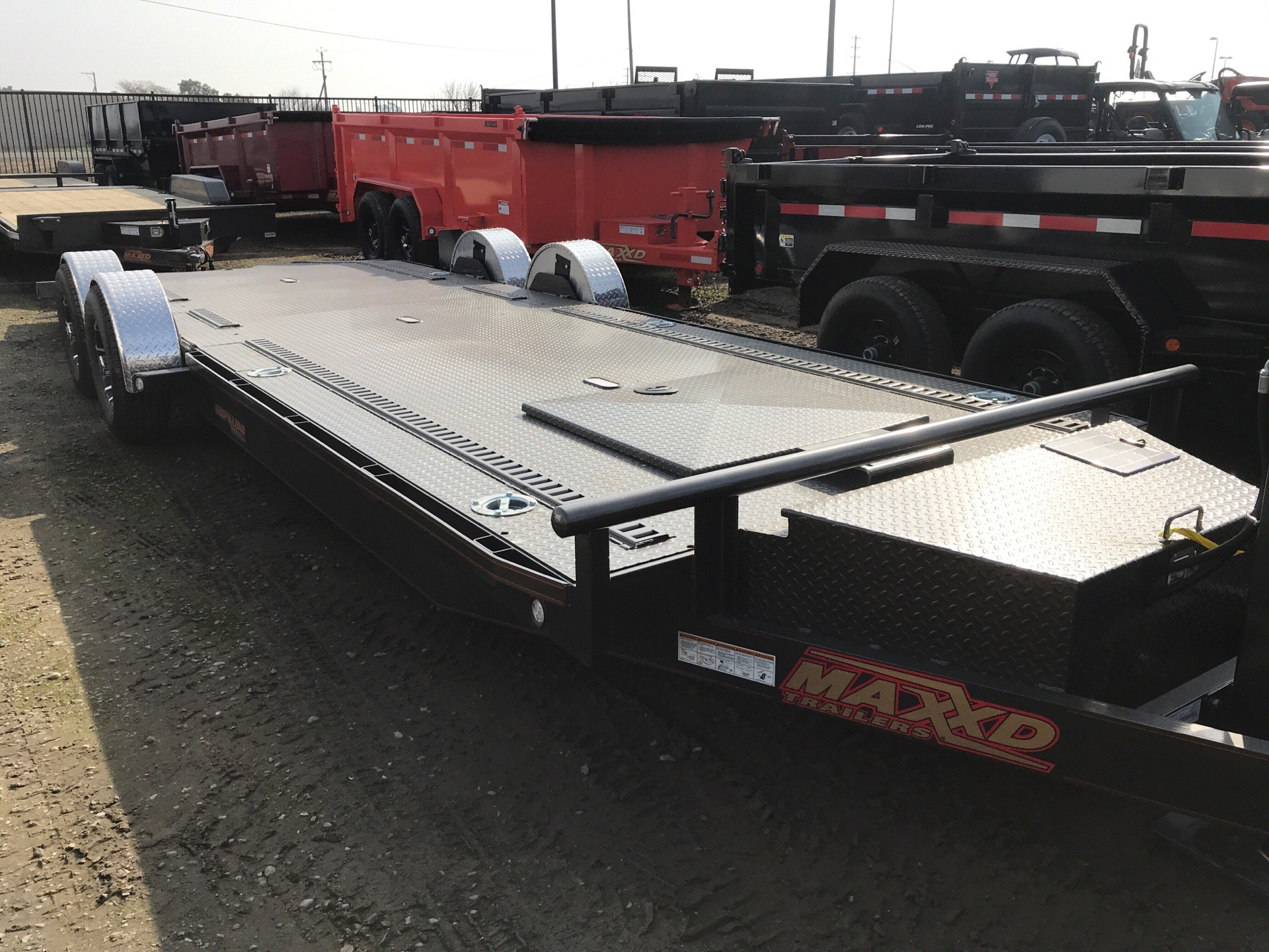"2019 MAXXD TRAILERS 24' X 80"" 10K DROP-N-LOAD in Elk Grove, California - Photo 1"