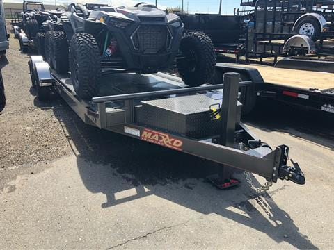 "2019 MAXXD TRAILERS 24' X 80"" 10K DROP-N-LOAD in Elk Grove, California - Photo 17"