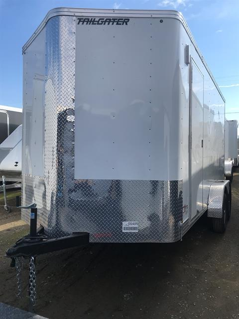 2019 TNT Trailer, LLC 14' X 7' TA CARGO TRAILER in Elk Grove, California - Photo 1