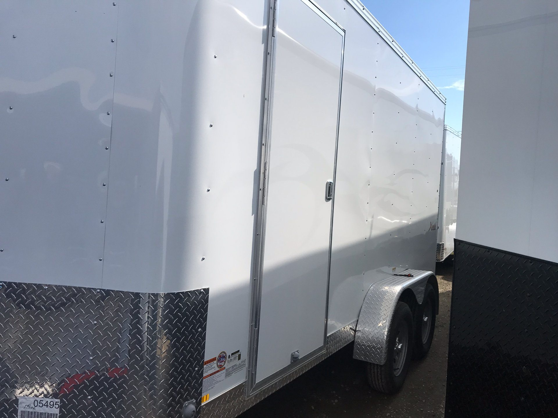 2019 TNT Trailer, LLC 14' X 7' TA CARGO TRAILER in Elk Grove, California