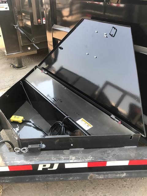 "2019 PJ Trailers 14' X 83"" LOW PRO HIGH SIDE DUMP in Elk Grove, California"