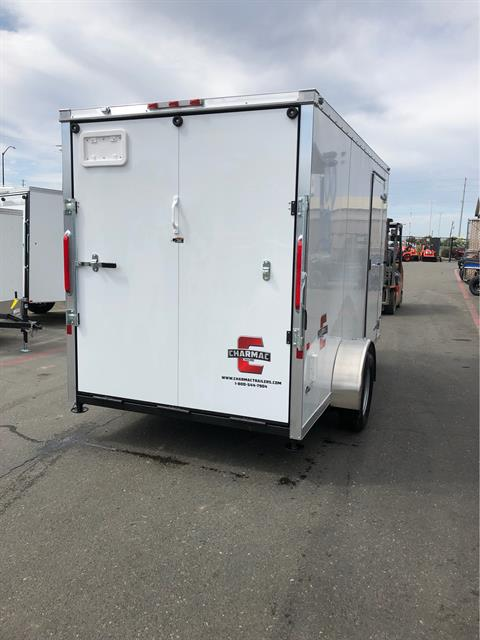 2020 Charmac Trailers 10' X 6' STEALTH CARGO TRAILER in Elk Grove, California - Photo 4