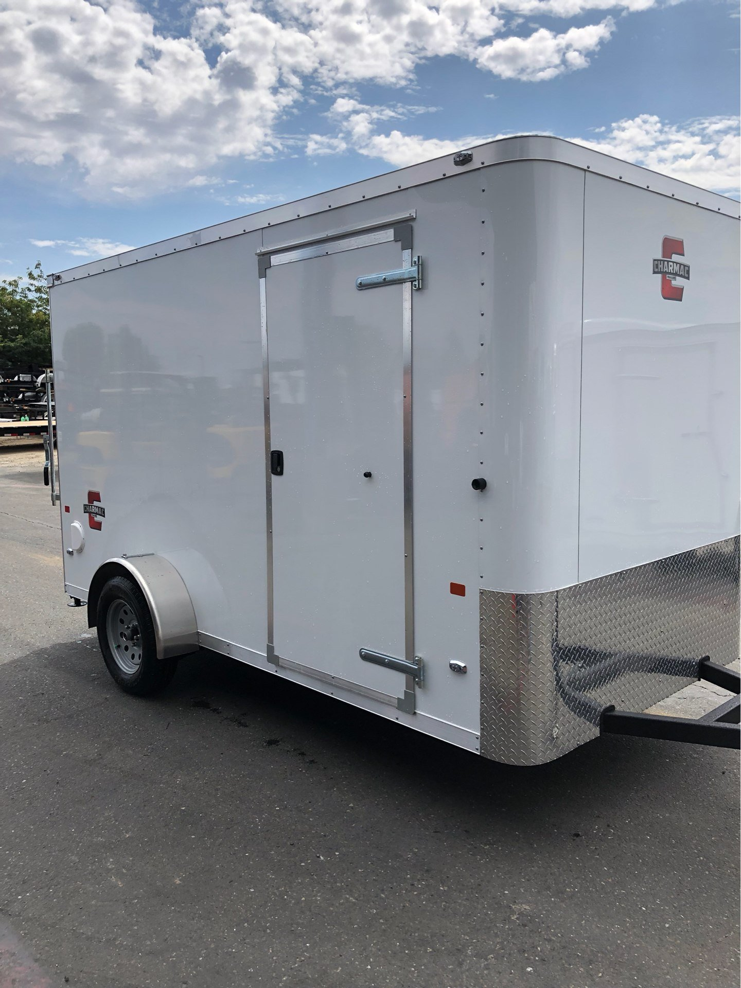 2020 Charmac Trailers 10' X 6' STEALTH CARGO TRAILER in Elk Grove, California - Photo 6