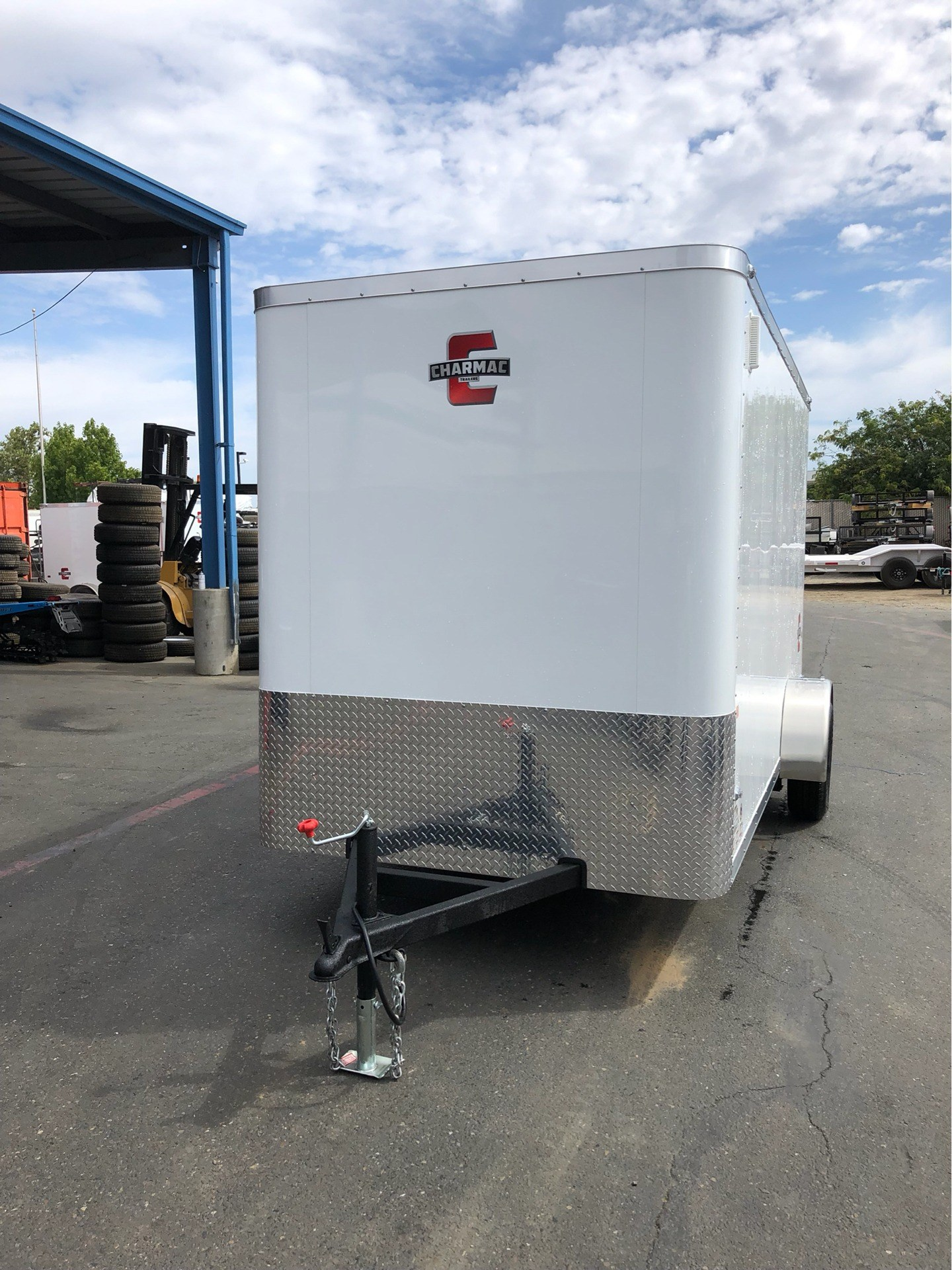 2020 Charmac Trailers 10' X 6' STEALTH CARGO TRAILER in Elk Grove, California - Photo 7