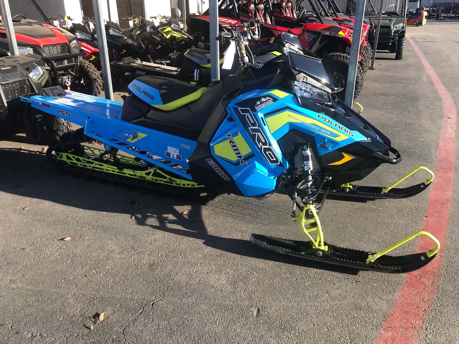 2019 Polaris 800 PRO-RMK 155 SnowCheck Select 3.0 in Elk Grove, California - Photo 1