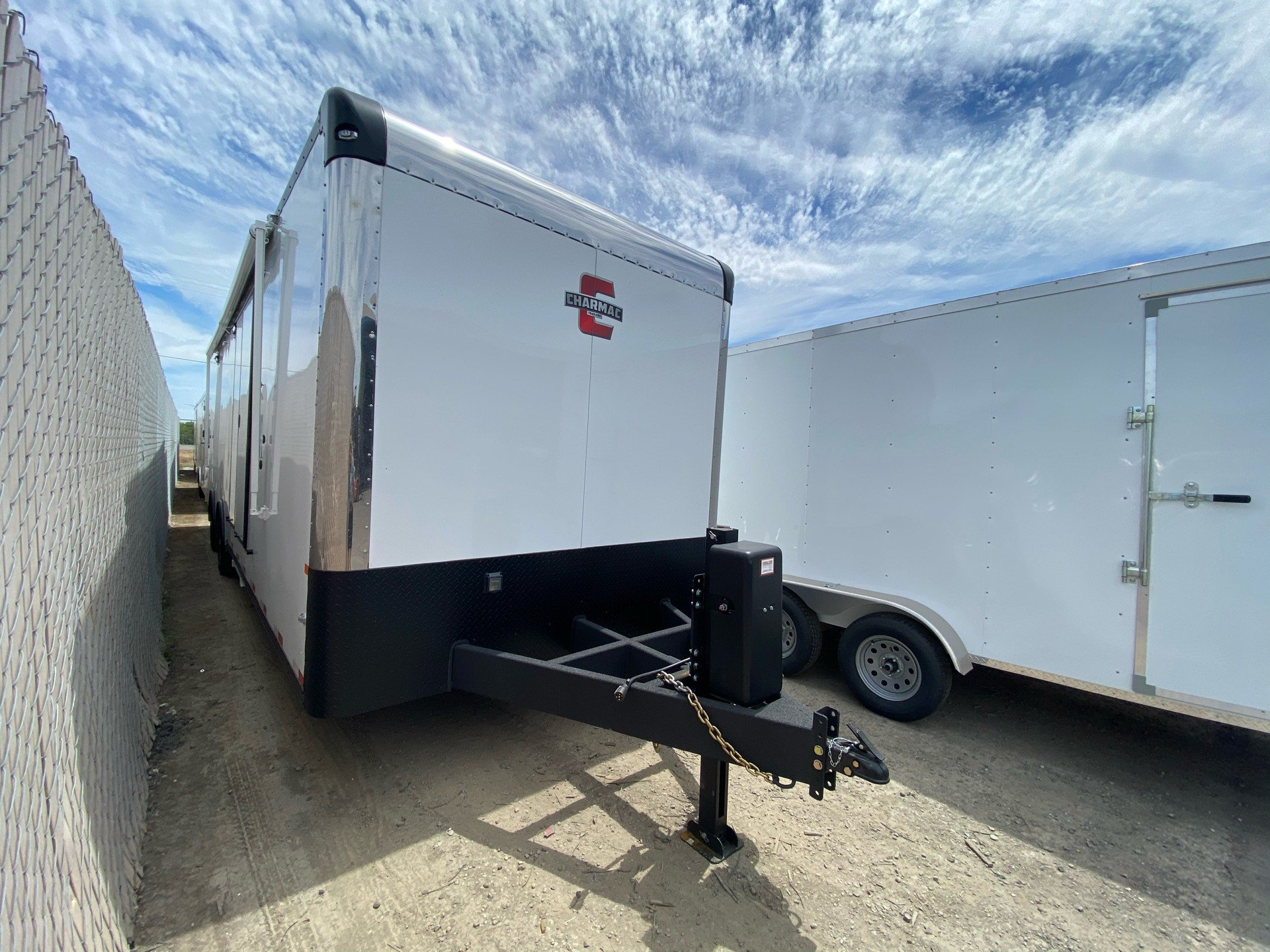 "2020 Charmac Trailers 32' X 100""  LEGEND RACE TRAILER in Elk Grove, California - Photo 1"