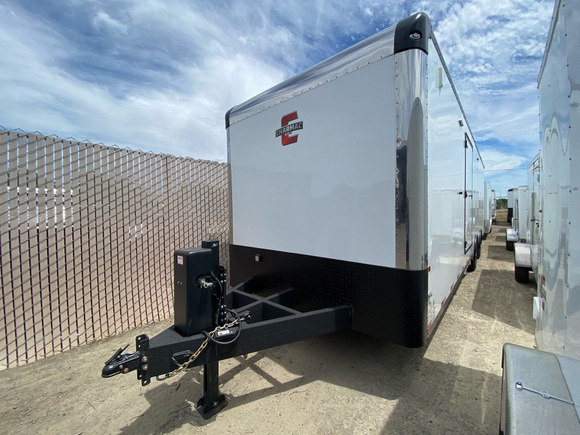 "2020 Charmac Trailers 32' X 100""  LEGEND RACE TRAILER in Elk Grove, California - Photo 4"