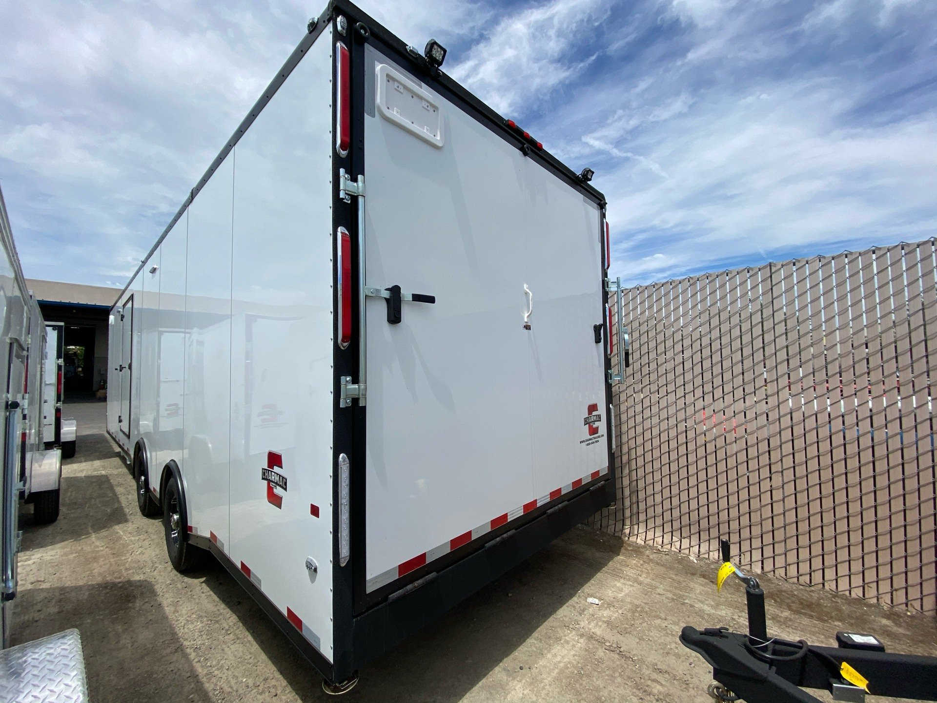 "2020 Charmac Trailers 32' X 100""  LEGEND RACE TRAILER in Elk Grove, California - Photo 5"
