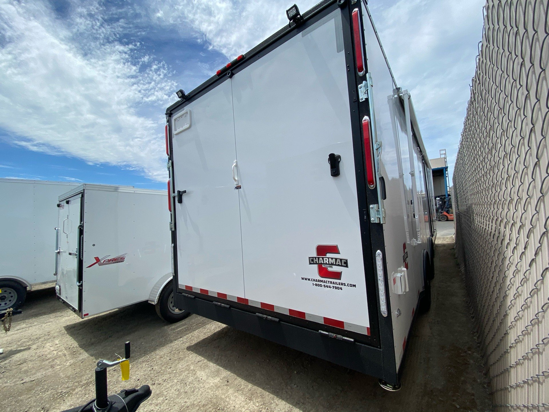 "2020 Charmac Trailers 32' X 100""  LEGEND RACE TRAILER in Elk Grove, California - Photo 7"