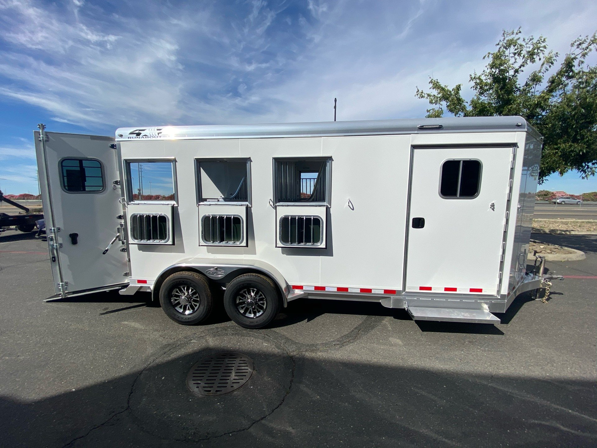 2021 4-STAR TRAILERS 3H RUNABOUT SLANT LOAD in Elk Grove, California - Photo 7
