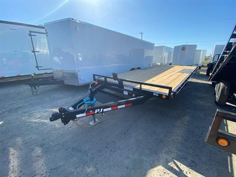 "2021 PJ Trailers 20' MED. DUTY DECKOVER 6"" CHANNEL in Elk Grove, California - Photo 1"