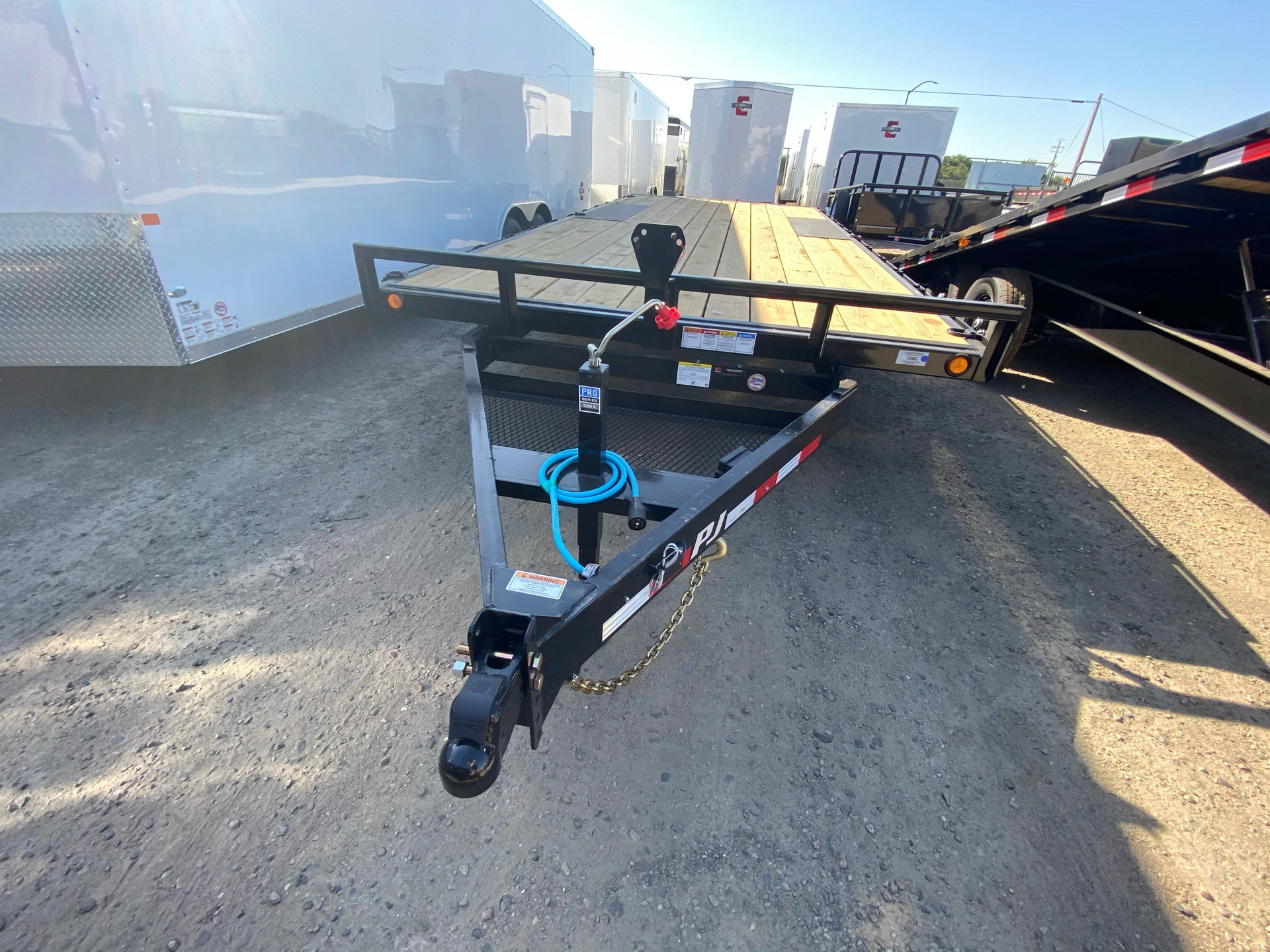 "2021 PJ Trailers 20' MED. DUTY DECKOVER 6"" CHANNEL in Elk Grove, California - Photo 3"