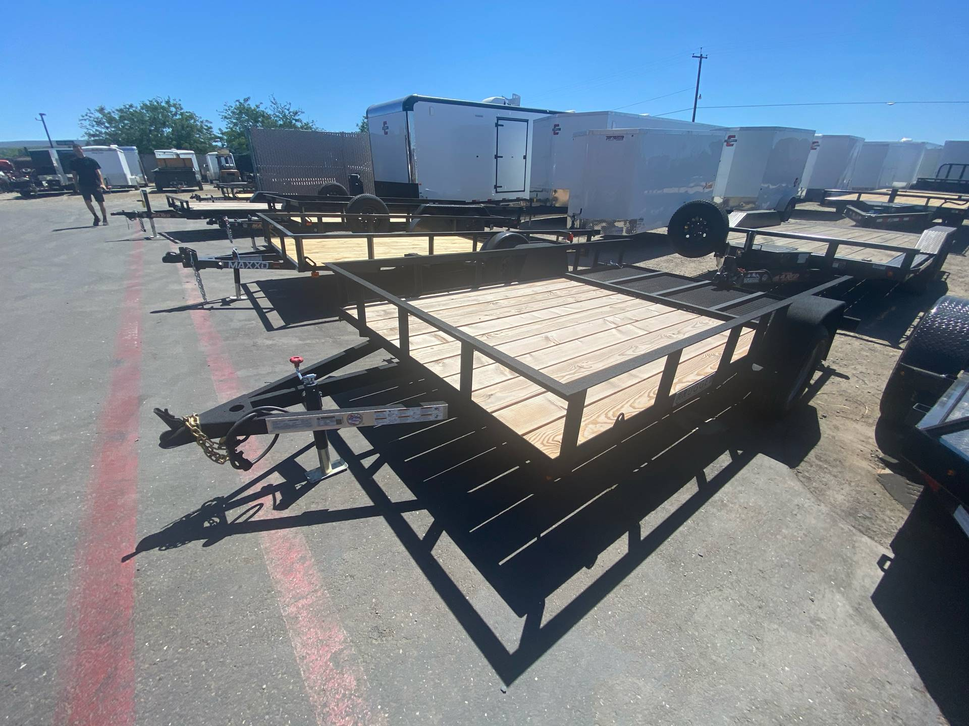 2020 Charmac Trailers 14' X 7' UTILITY TRAILER in Elk Grove, California - Photo 1