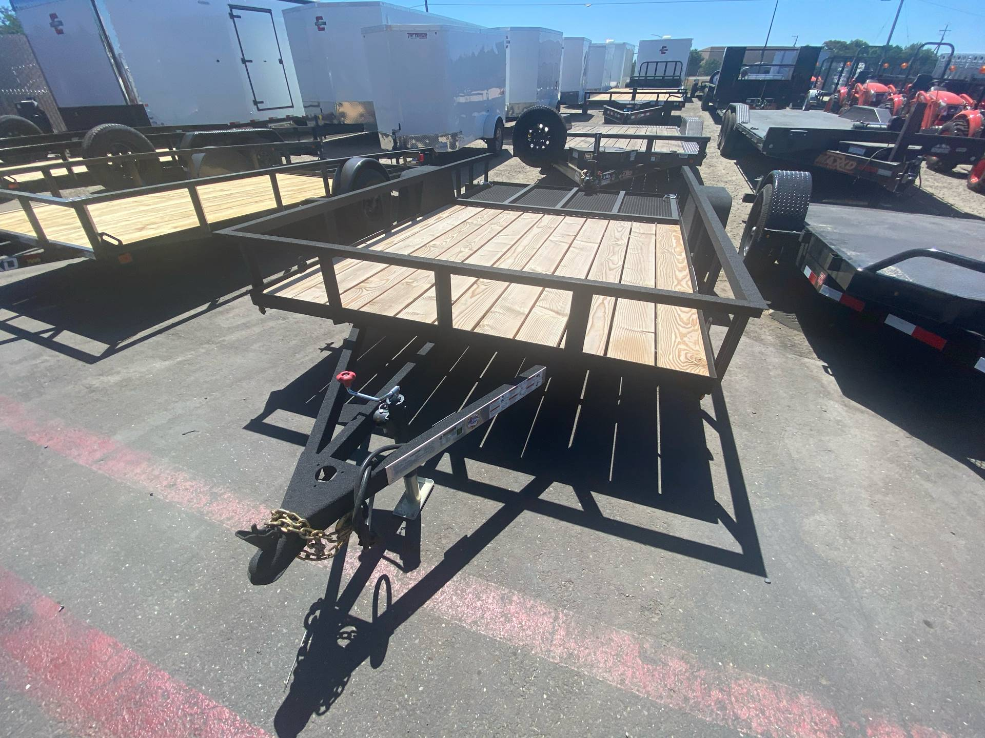 2020 Charmac Trailers 14' X 7' UTILITY TRAILER in Elk Grove, California - Photo 2