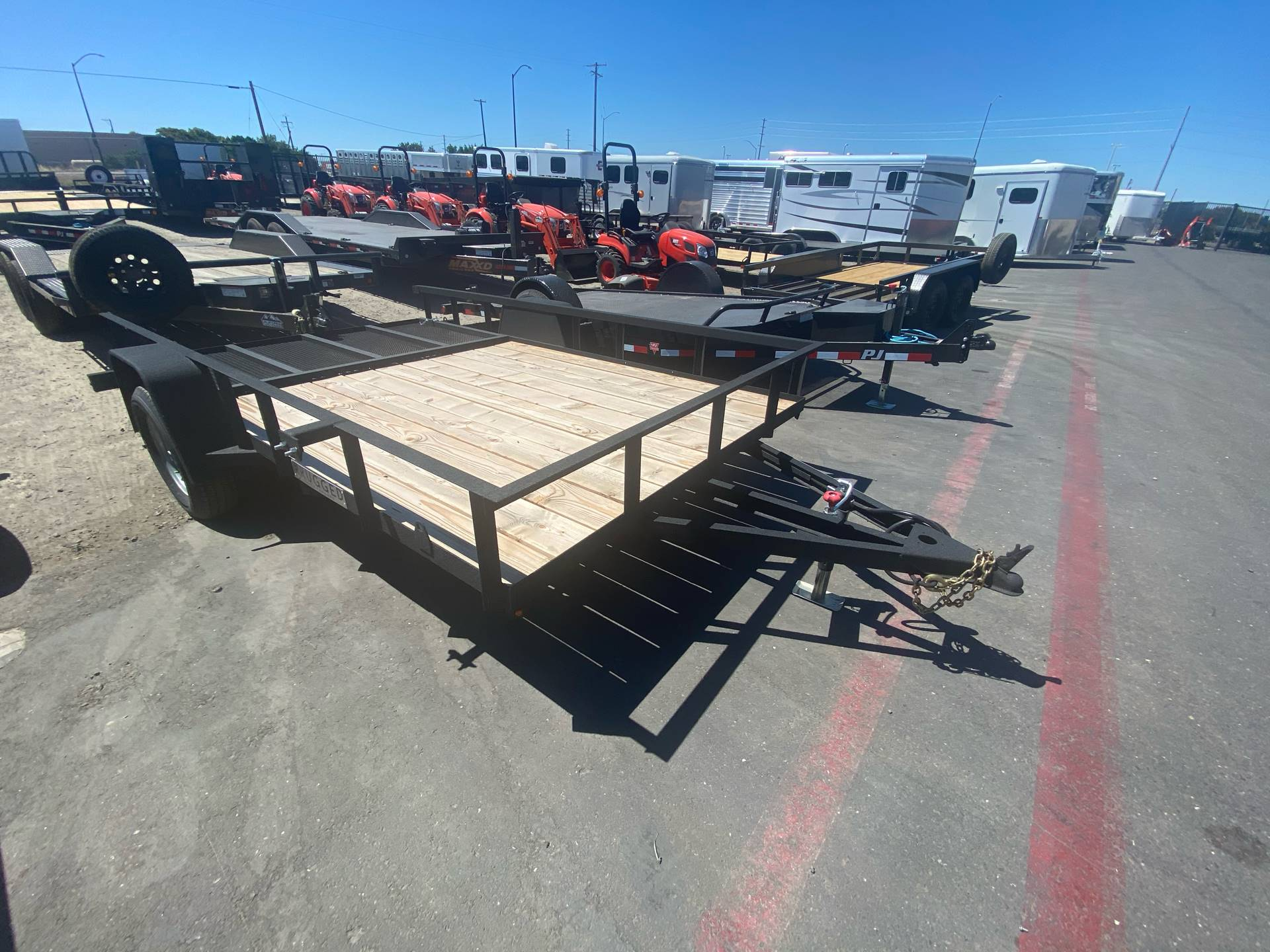 2020 Charmac Trailers 14' X 7' UTILITY TRAILER in Elk Grove, California - Photo 4