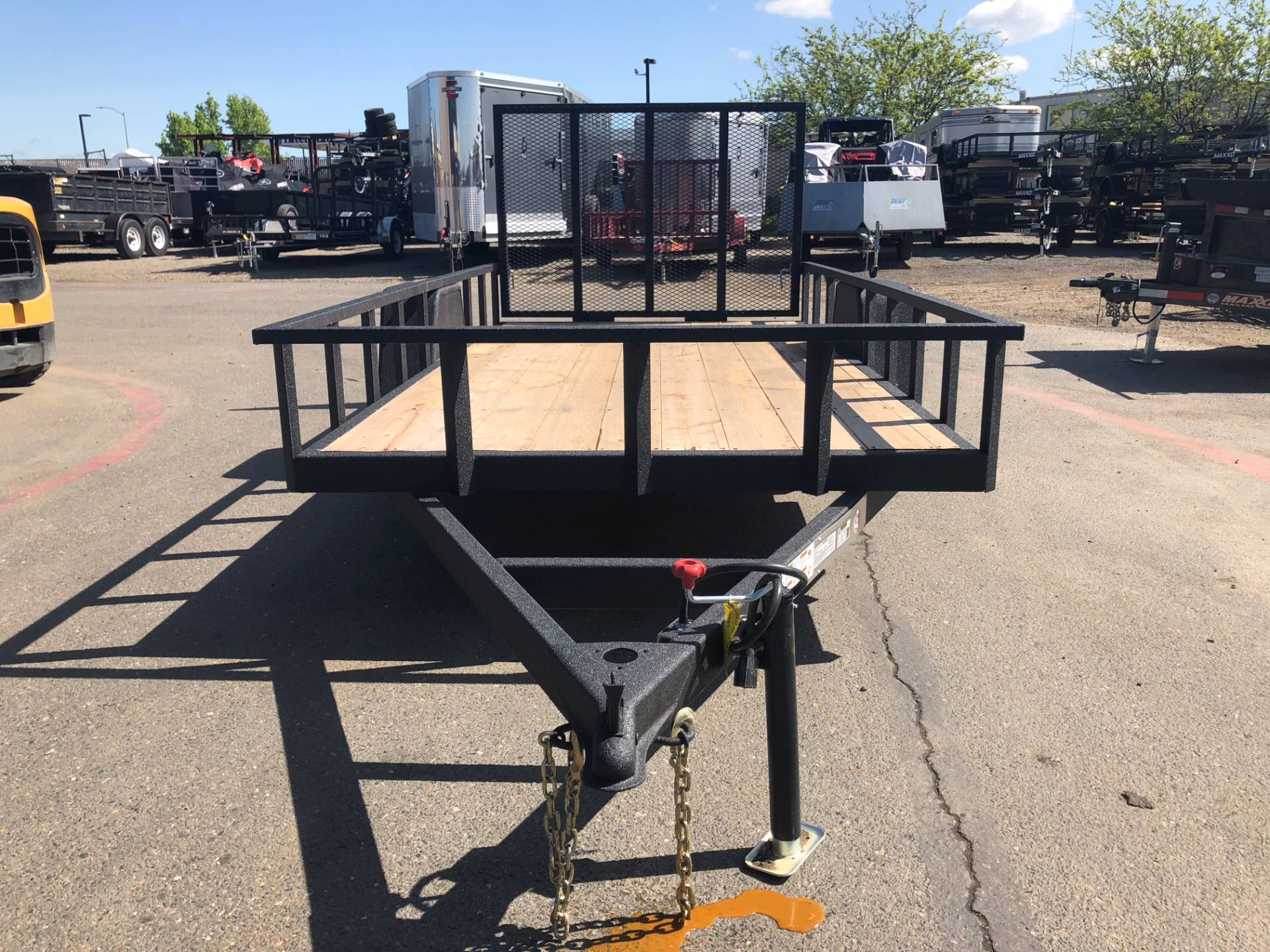 2019 Charmac Trailers 16' X 7' STEEL UTILITY  in Elk Grove, California - Photo 1