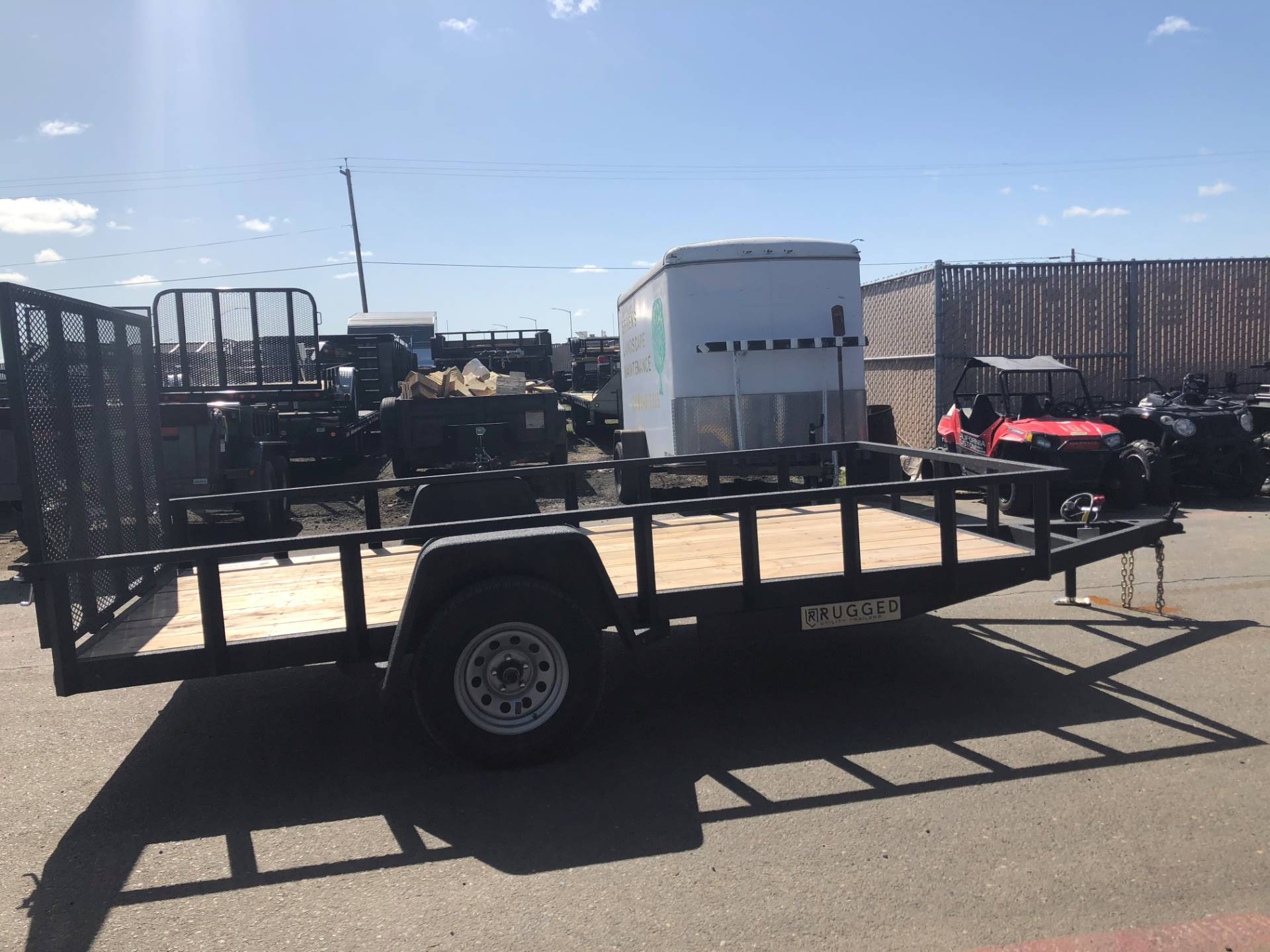 2019 Charmac Trailers 16' X 7' STEEL UTILITY  in Elk Grove, California - Photo 5