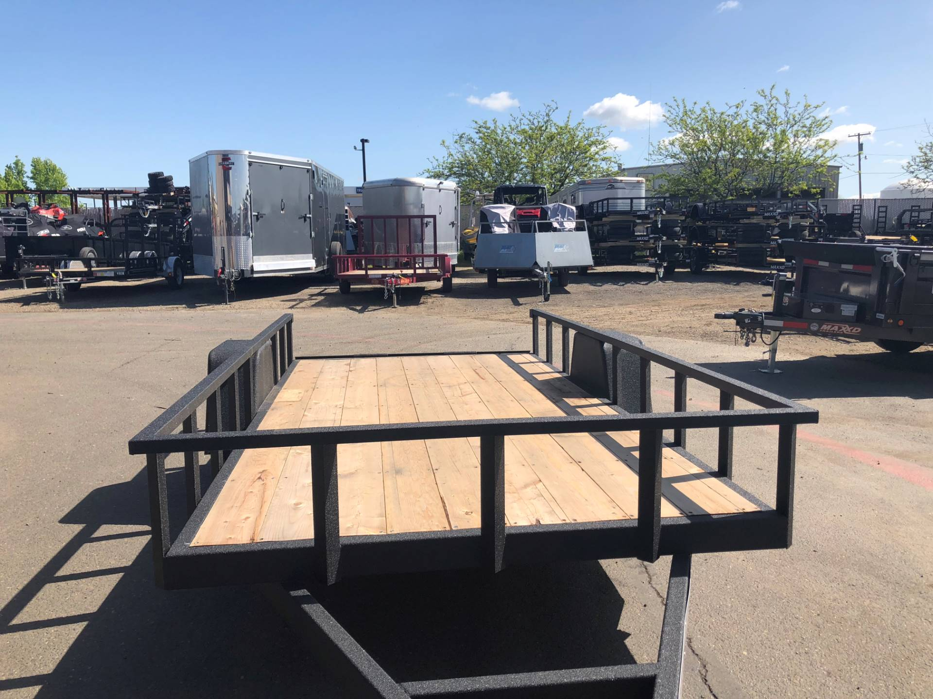 2019 Charmac Trailers 16' X 7' STEEL UTILITY  in Elk Grove, California - Photo 9