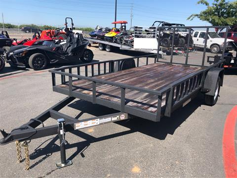 2019 Charmac Trailers 16' X 7' STEEL UTILITY  in Elk Grove, California - Photo 2