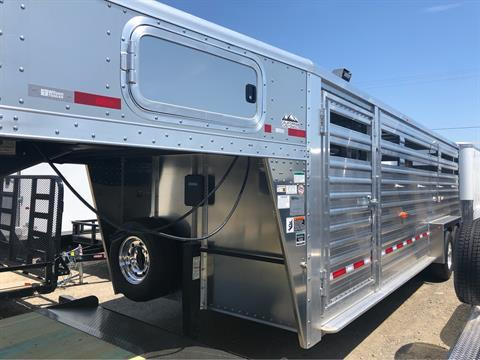 2020 Wilson Trailer - Manufacturers 24' RANCH HAND SLAT SIDE in Elk Grove, California - Photo 4