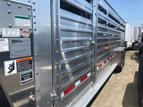 2020 Wilson Trailer - Manufacturers 24' RANCH HAND SLAT SIDE in Elk Grove, California - Photo 5