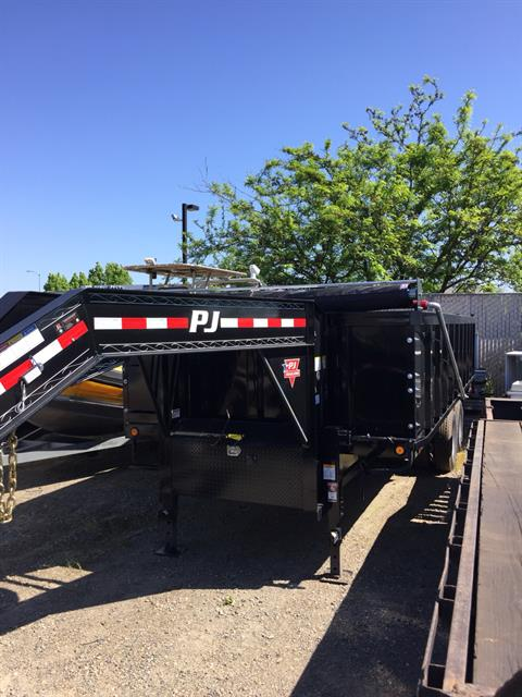 2018 PJ Trailers 20' TANDUM DUAL DUMP in Elk Grove, California