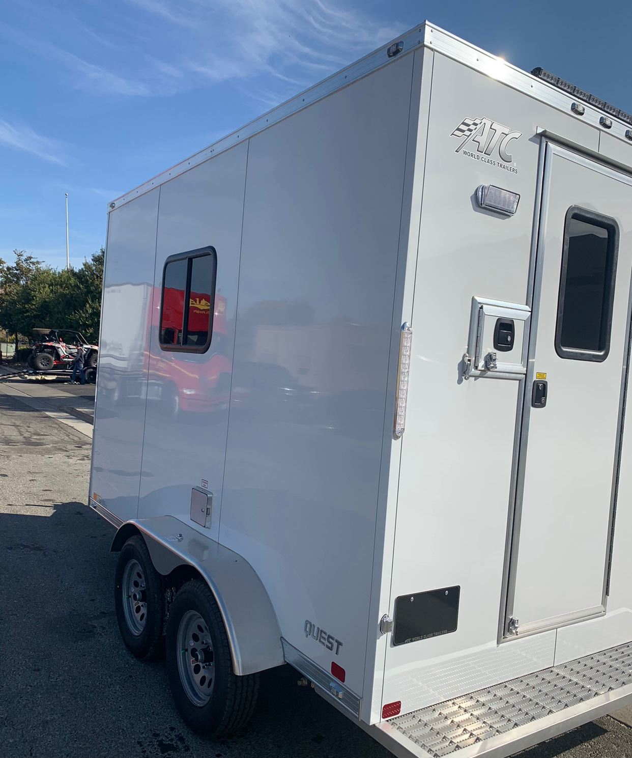 2021 ATC TRAILERS 12' X 7' FIBER OPTIC TRAILER in Elk Grove, California - Photo 12