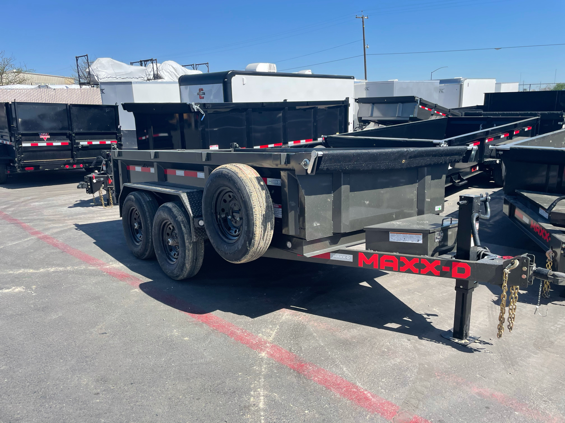 "2021 MAXXD TRAILERS 12' X 72"" 10K DUMP in Elk Grove, California - Photo 1"