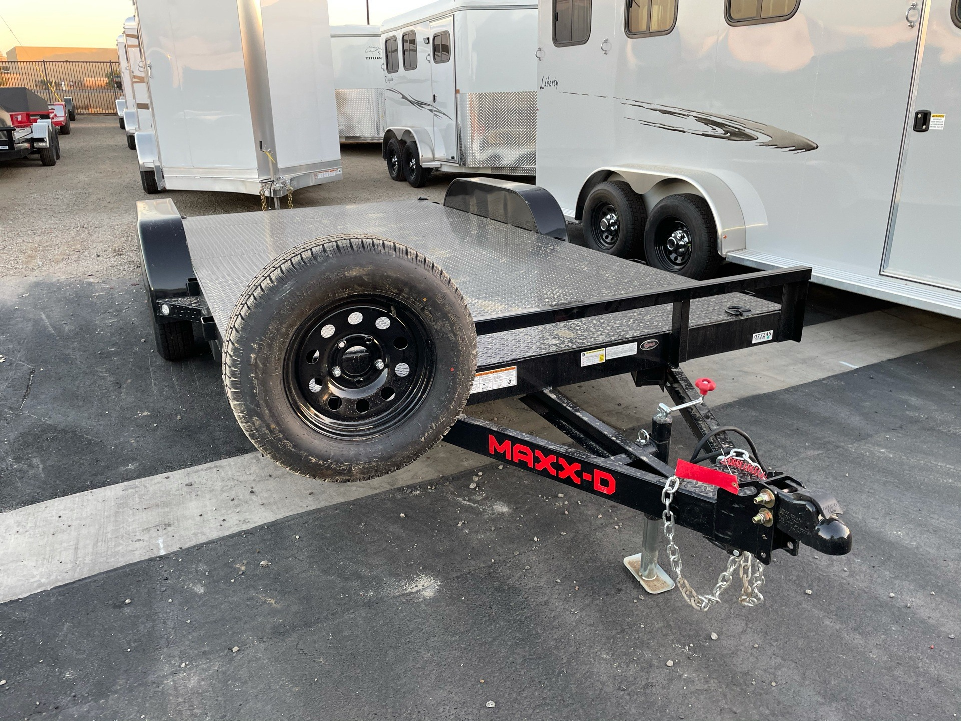 "2021 MAXXD TRAILERS 16' X 83"" CHANNEL CAR HAULER in Elk Grove, California - Photo 1"