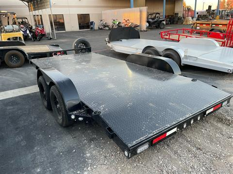 "2021 MAXXD TRAILERS 16' X 83"" CHANNEL CAR HAULER in Elk Grove, California - Photo 4"