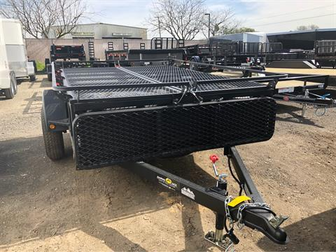 2018 Jumping Jack 6X8 UTILITY TRAILER W/SPARE in Elk Grove, California